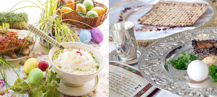 lent, easter and passover